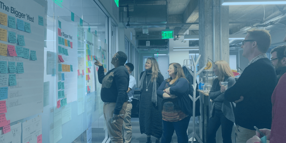 The Dash Team during ideation