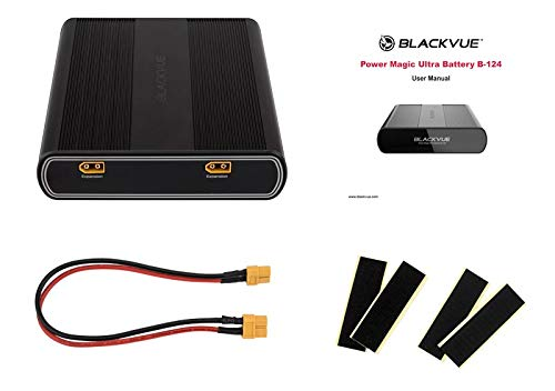 BlackVue B-124 battery pack for dash cams, with accessories