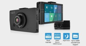 BlackVue DR490L-2CH front and rear dash cam