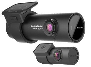 BlackVue DR750S front and rear car camera