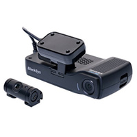 product photo of the BlackSys CH-100B dual channel dash cam
