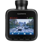 "Product photo of the Garmin Dash Cam 20 with its 2.3"" LCS screen"