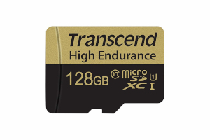 High Endurance 128GB Memory Card by Transcned