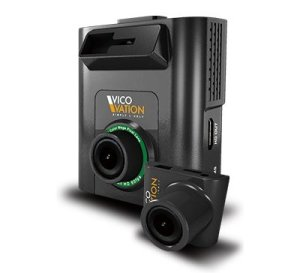 The Vico Marcus 5, a front and rear camera with excellent video quality both ways and parking mode