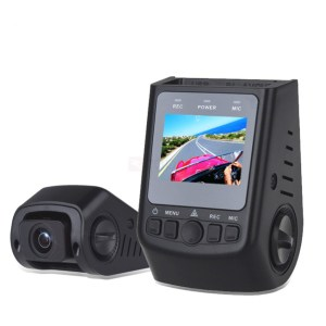 product photo of the Viofo A118C2 wedge shaped dash cam