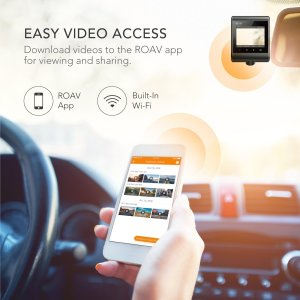 Anker Roav C1 connecting to smartphone app