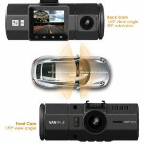 Vantrue N2 Dual Dash Cam 2017