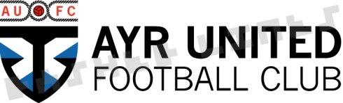 Ayr Utd badge redesign - wide version
