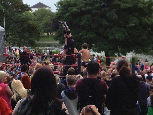 NEFest wrestling