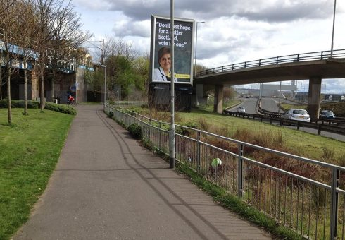 Clydeside path east