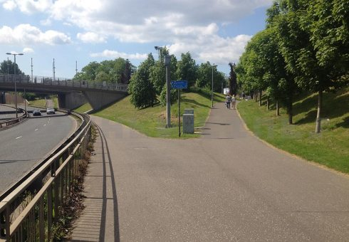 Clydeside path west Partick ramp