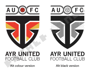AUFC badge alternative version