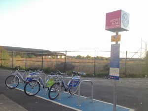 Bellgrove St Nextbike hire station