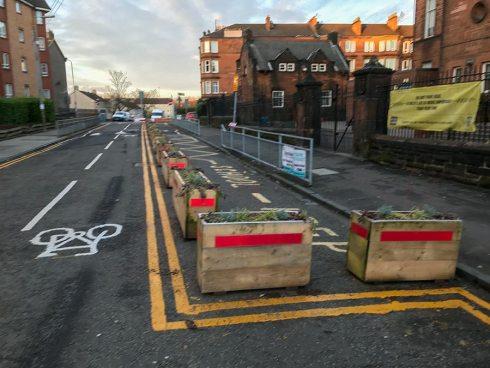 Armadale St planter boxes