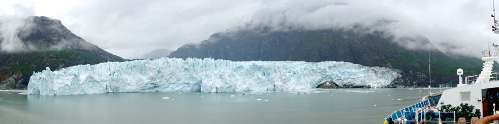 Panorama Margerie Glacier
