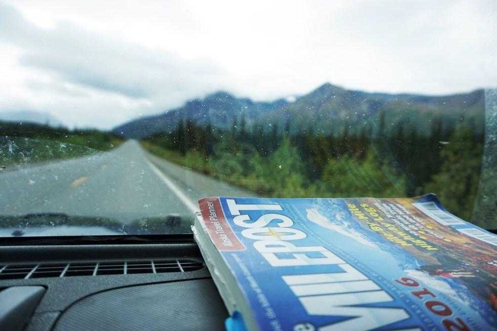 Milepost Alaska