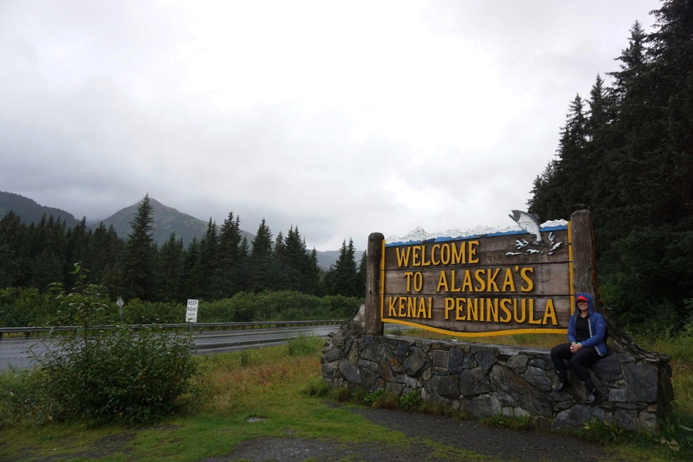 Welcome to Kenai Peninsula sign