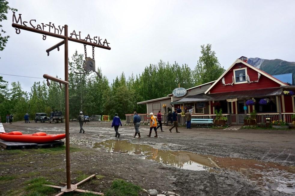 Main street mccarthy Alaska
