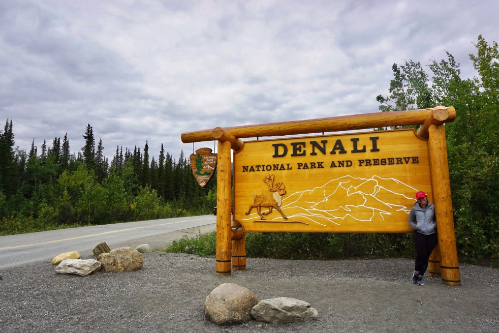 Denali Entrance Sign