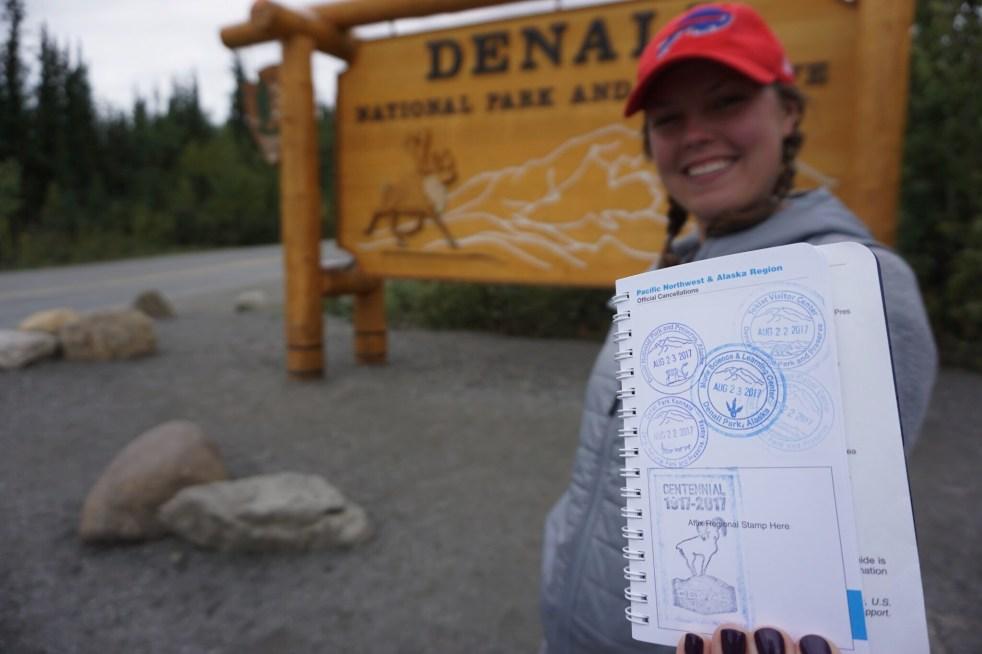 National Parks Passport Denali