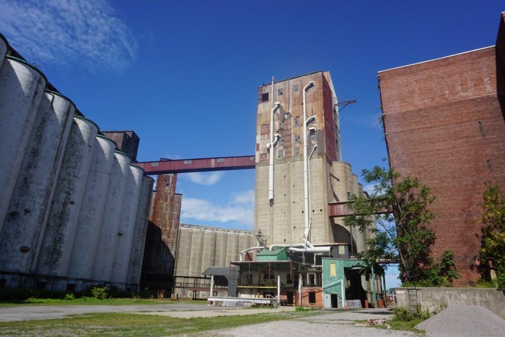 Buffalo's grain elevators at Silo City