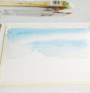 Watercolour Sky