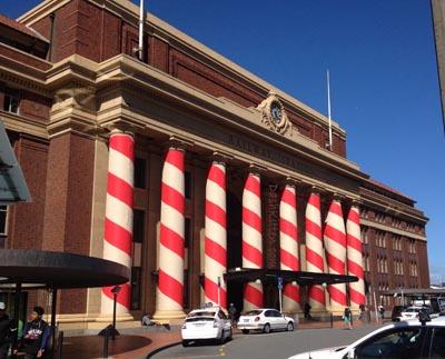 No Drama at Christmas Wellington Station