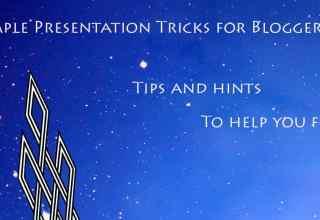 Simple Presentation Tricks for Bloggers