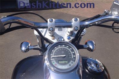 Dash Kitten Motorbike Picture