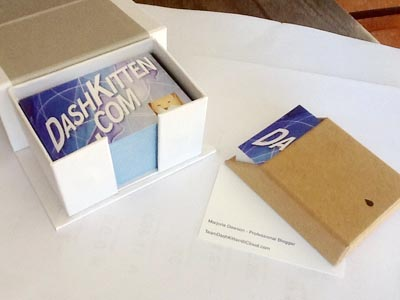 Business Cards for Dash Kitten