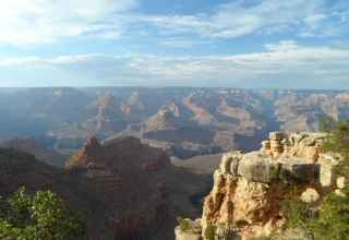 Grand Canyon image showing its size