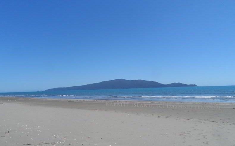 Kapiti Island on the Kapiti Coast