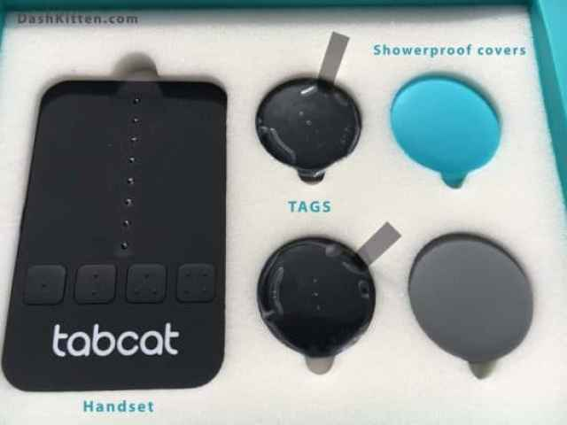 Tabcat Tracker Display box
