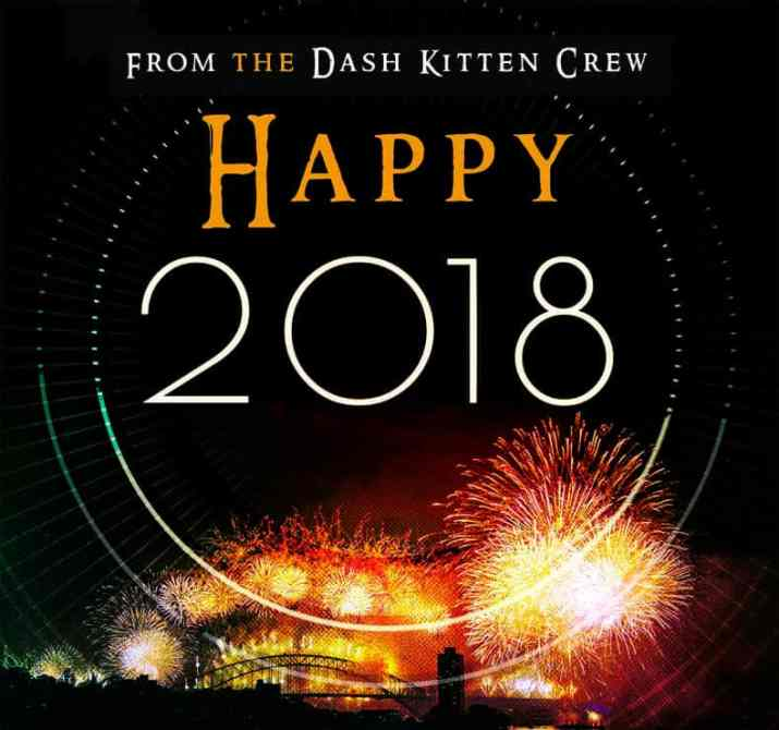 2018 Dash Kitten Graphic for the blog