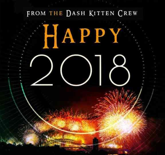 2018 Dash Kitten Graphic for the blog