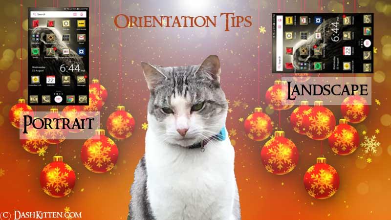 Smartphone Orientation Tips