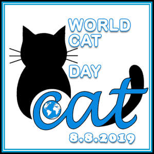 Celebration Graphic for World Cat Day
