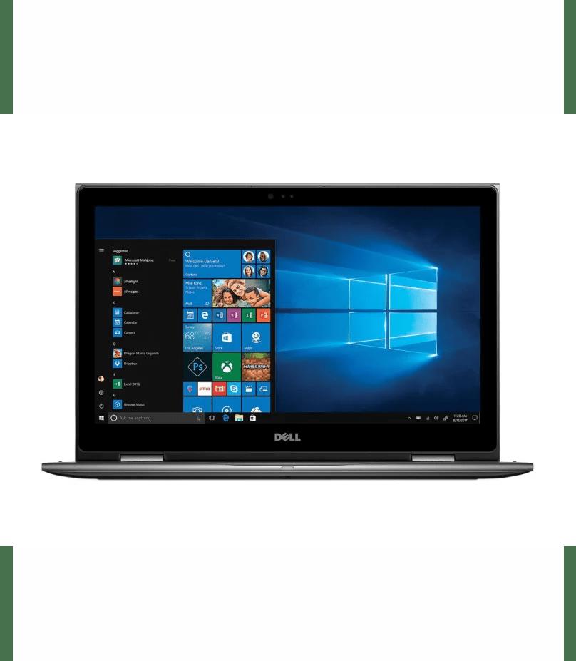 Dell Inspiron 15 (5579) 2-in-1: Intel® Core™ i7, 8th Gen, 8GB RAM,1TB HDD, Backlit Keyboard, Windows 10