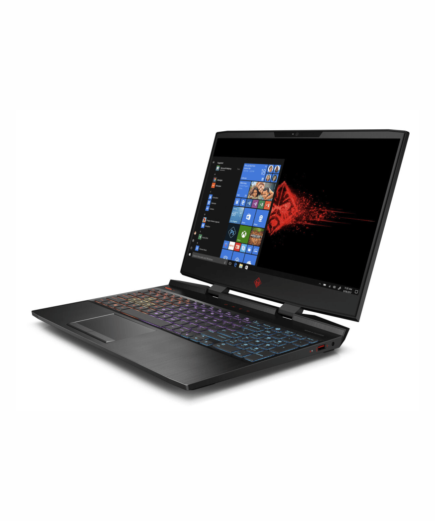 HP OMEN 15 DC1057NR Intel core i7, 8GB Ram, 512GB SSD+ 32 GB Intel® Optane,NVIDIA® GeForce® GTX 1650 (4 GB GDDR5 dedicated)
