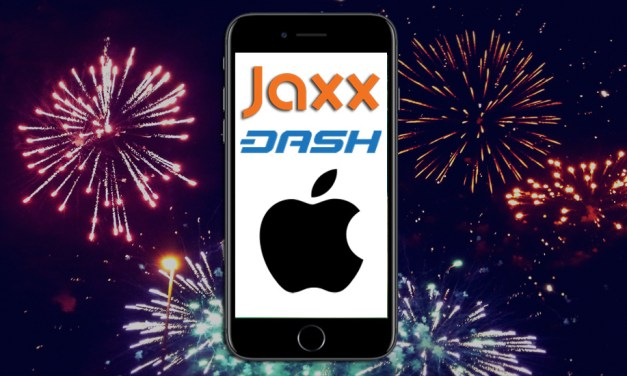 Jaxx Successfully Re-Adds Dash Into iPhone Wallet