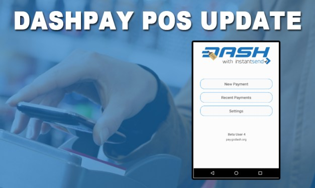 DashPay Point of Sale Update!