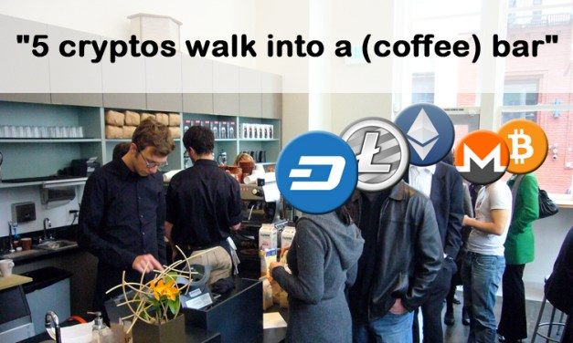 "The Cryptocurrency ""Coffee Shop Challenge"""