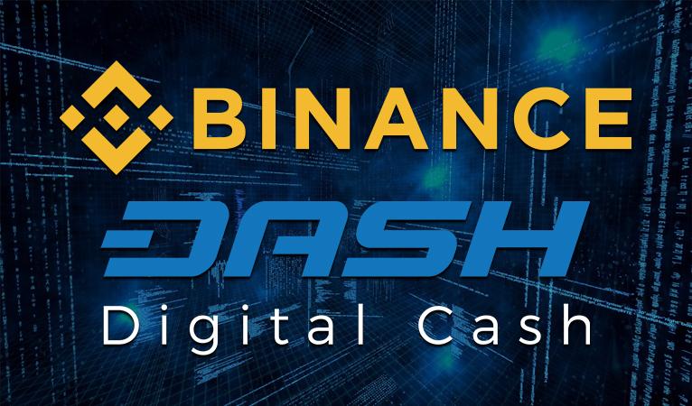 Binance Adds Dash Trading Pairs