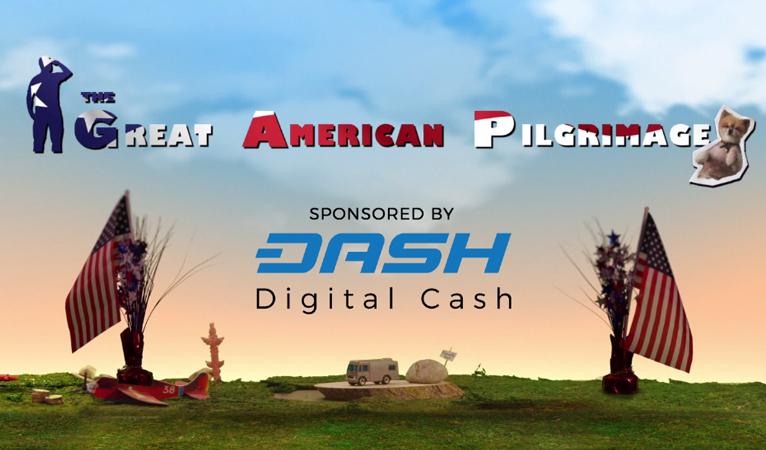 Bande-annonce de l'émission The Great American Pilgrimage – sponsorisée par DASH