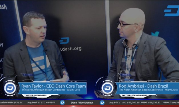 Exclusive Interview with Ryan Taylor at The North American Bitcoin Conference in Miami 2018