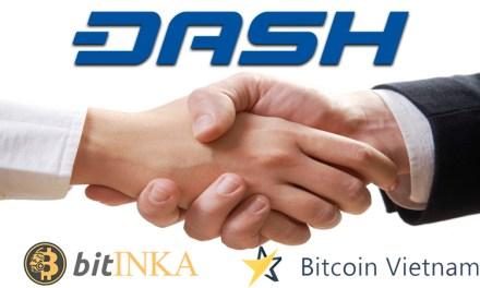 Биржи BitINKA и Bitcoin.vn добавляют Dash