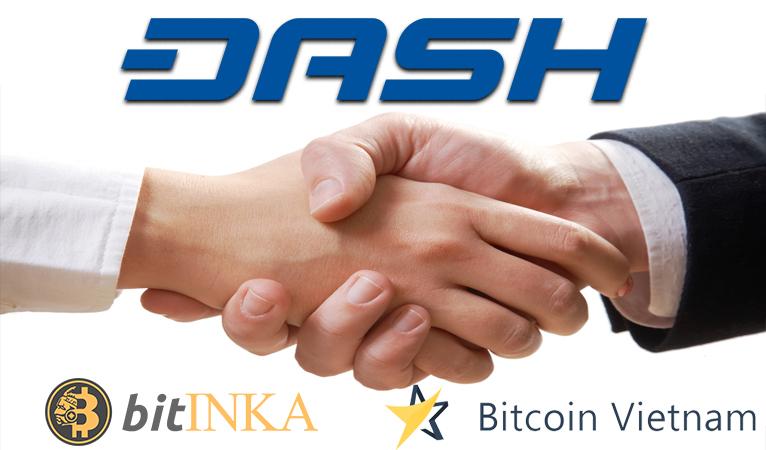 BitINKA and Bitcoin.vn Integrate Dash