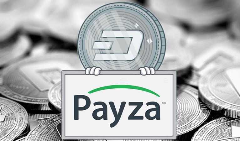 Dash est intégré à Payza avec ses 100 000 marchands, et offre 10 à 15%