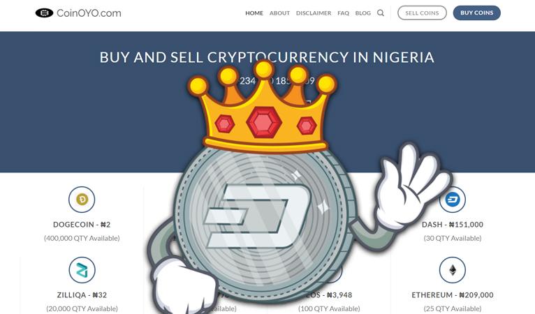 Gaining Traction in Developing World: Nigerian Exchange CoinOYO Adds Dash