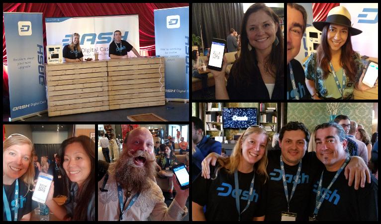 Dash Team übernimmt Hauptvortrag bei der Voice & Exit – 113 neue Wallets installiert